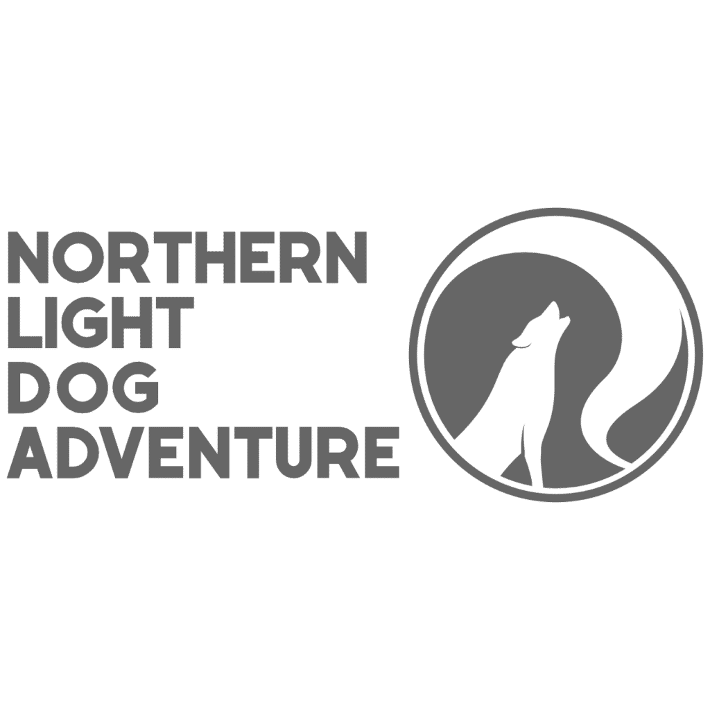 Logo. Northern Light Dog Adventure